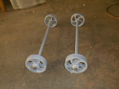 Maytag Small Engine Truck Cart 4 Wheels Axles - Hit Miss Engine.