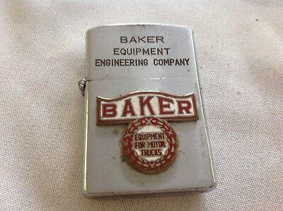 Baker Equipment Engineering Company Vintage Cigarette Lighter