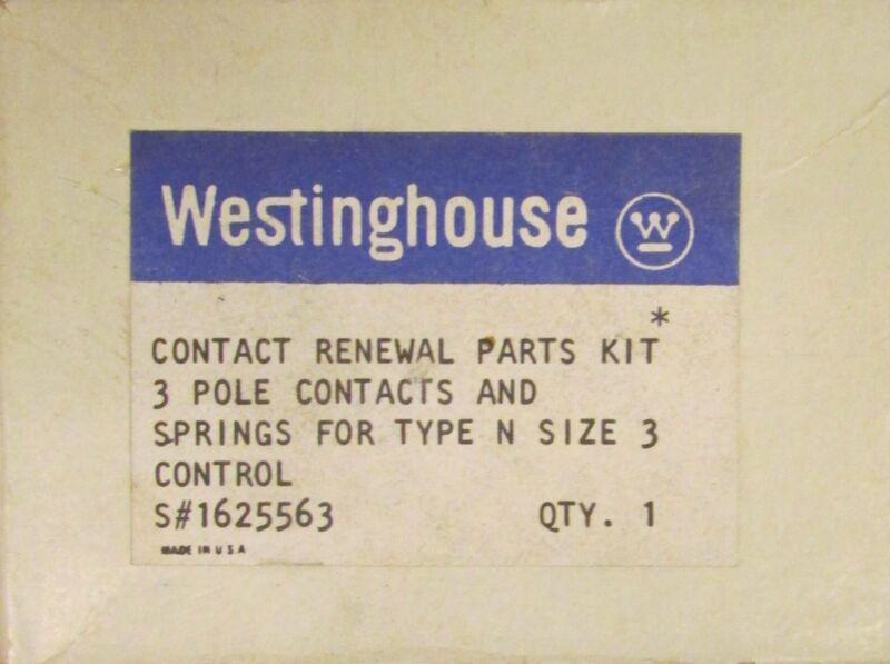 WESTINGHOUSE Size 3 Type N Lifeline Contact Kit 3 Pole 1625563