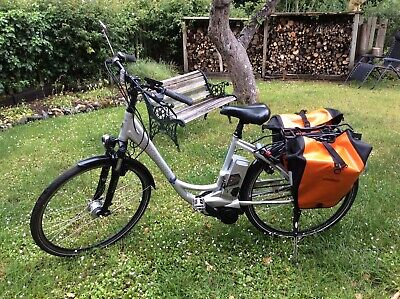 Kalkhoff Electric Bike. Agattu Stepthru. Medium Size. 18AH Battery