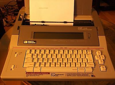 Word Processor Typewriter Smith- Corona Pwp 145 Display Memory