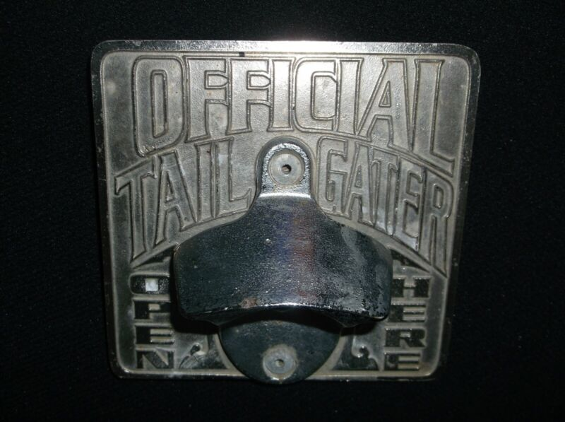 Official Tailgater Bottle Opener Hitch Cover by Bergamot 2006