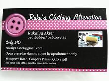 Ruku's clothing Alteration ( Cheapest ) Coopers Plains Brisbane South West Preview