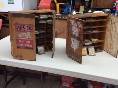Car Parts - vintage Car Parts & Cabinets