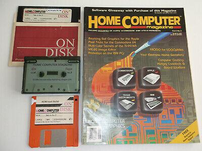 ti994a HomeComputerMagazine 1984 v4 n2 (ORIGINAL) + ON-DISK (REFURBISHED)