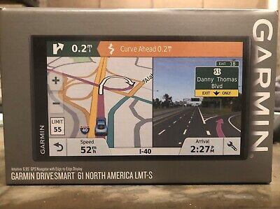 Garmin 010-01681-02 DriveSmart 61 LMT-S Navigation System