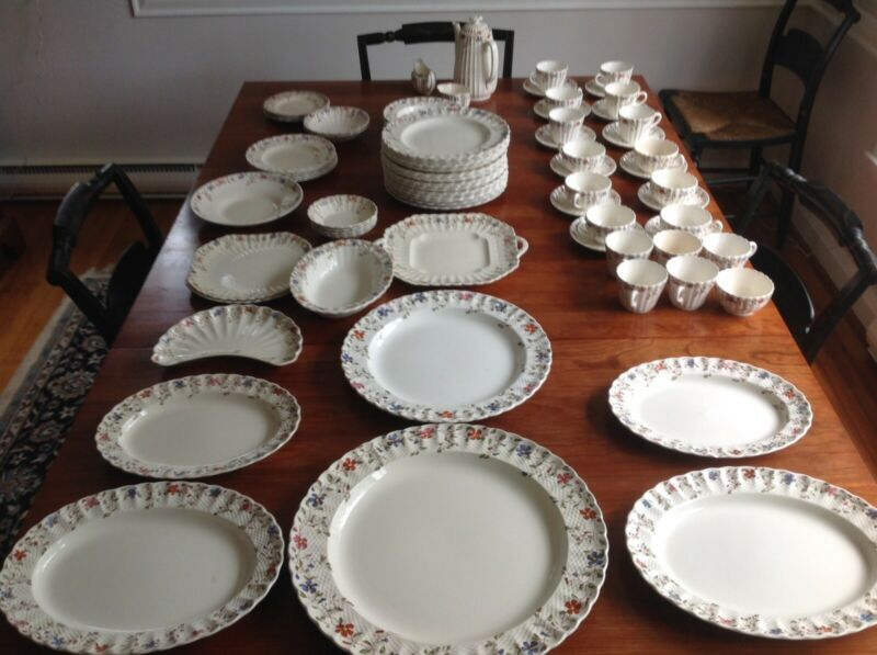Antique Spode Wickerdale China Set