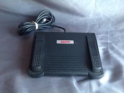 SANYO FS-92 FOOT PEDAL CONTROL FOR TRC 9000 9100 9040 9400 TRANSCRIBERS