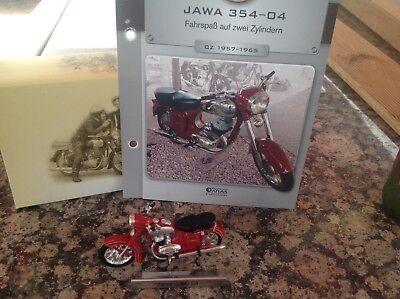 Jawa 354-04 Motorrad Fahrzeuge DDR  Atlas Verlag OVP 1:24 gebraucht kaufen  Dittelsdorf