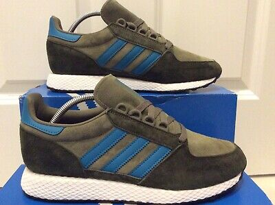 adidas Forest Grove Green Olive Suede Size 9 Originals Spezial New York Zx