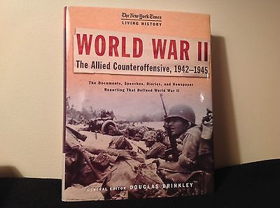 World War Ii  The Allied Counteroffensive  1942 1945 Hardcover Dust Jacket