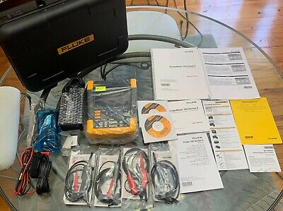 Fluke 190-502 Scopemeter Series Ii 5gss 2 Channel Oscilloscope New W Hard Case