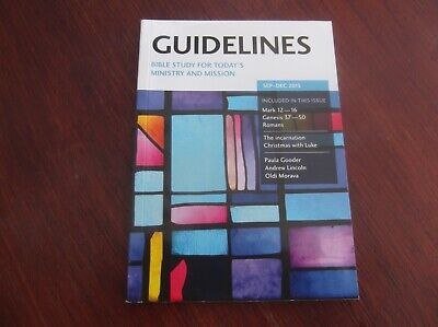 Guidelines, BRF, Sep-Dec 2015 - bible study magazine, 160 pages