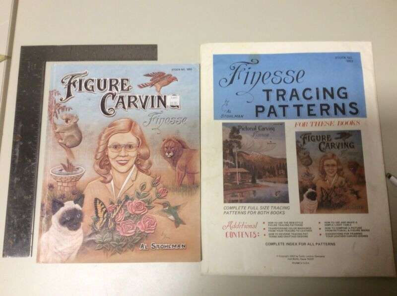 Figure Carving Finesse by Al Stohlman with Finesse Tracing Patterns Kit