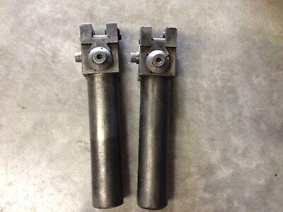 "EDW Andrews Boring Tool Holder 2"" Adjustable EA12-24 fits Turret Lathe Lot of 2"