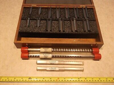 Dumont 70 Minute Man Metric Keyway Broach Set With Broaches Bushings Spacers