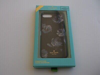 KATE SPADE NEW YORK Night Rose Glitter iPhone 8 Plus/7 Plus Case NIB NEW