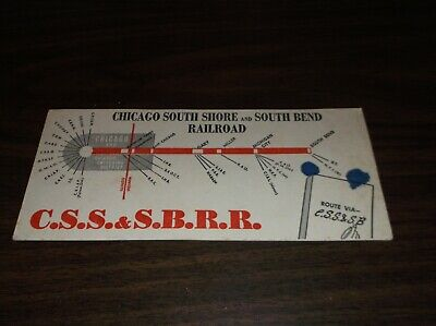 CHICAGO SOUTH SHORE AND SOUTH BEND RAILROAD INK