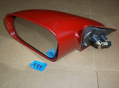 1998-2000 CHRYSLER SEBRING LXI COUPE DRIVER POWER MIRROR OEM FLAME -