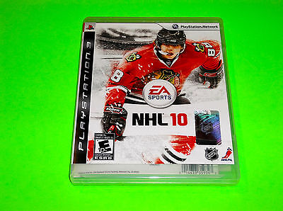 SONY PS3 PLAYSTATION 3 NHL 10 VIDEO GAME