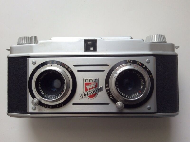 Bell & Howell TDC Stereo Colorist 35mm 3D Film Camera BEAUTIFUL!