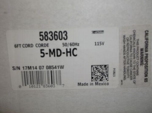 LITTLE GIANT, 5-MD-HC, 583603, 1/8 HP, MAGNETIC DRIVE, 115V
