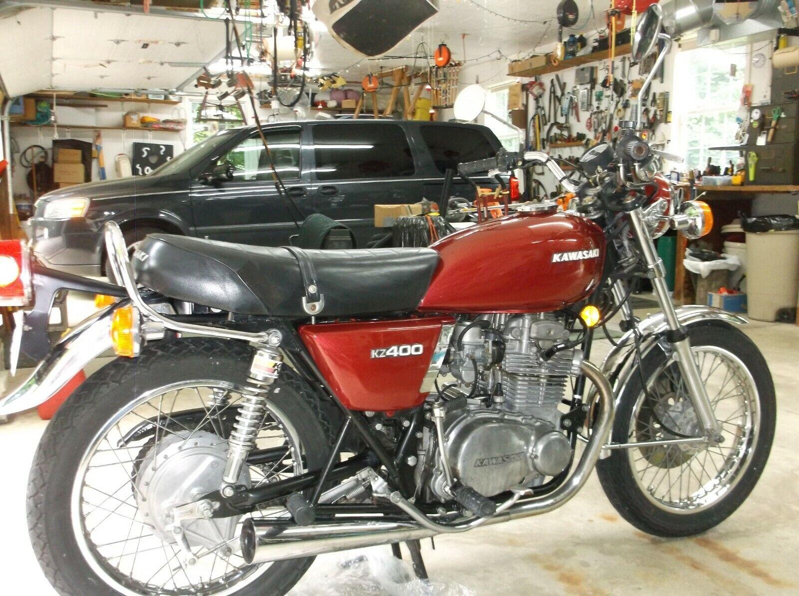 Kawasaki KZ400 1976