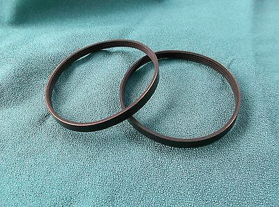 2 NEW DRIVE BELTS 4PJ373 MADE IN USE FOR AIR PUMP COMPRESSOR 4 RIB BELTS