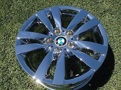 "17"" SET NEW BMW 325i 328i 330i 335i OEM CHROME WHEELS/RIMS-EXCHANGE  59584 85"
