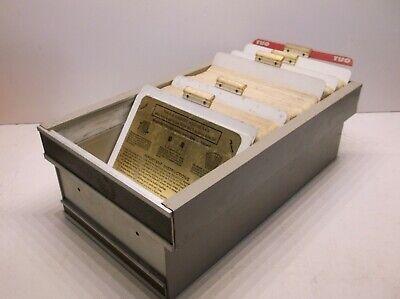 Magne-Dex Microfiche Film Organizer Holder 11 3/4