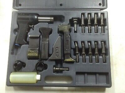 U.s. Industrial Tools Tp176 Rivet Gun Kit Riveter Set Aircraft Tool