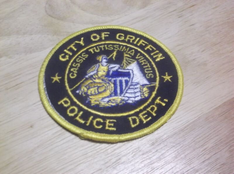 CR10) Griffin Georgia Police Patch