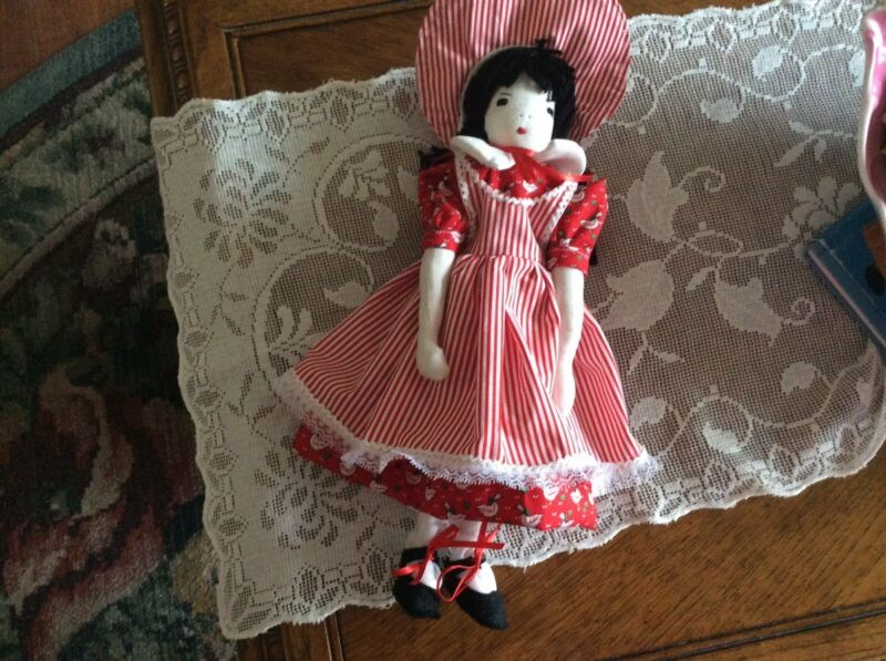 Edith Flack Ackerly 12 Inch Doll Pattern Tissue Cut Outs And Instructions