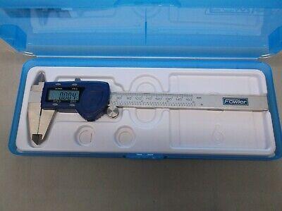 Fowler 6150mm Electronic Caliper Blue New