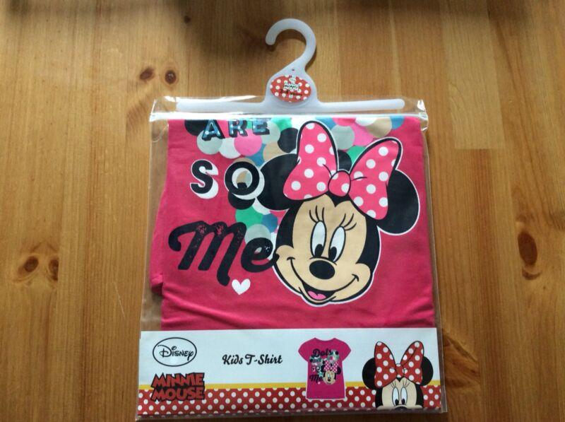 Disney+Girls+Minnie+Mouse+T-shirt+Aged+18-24+Months