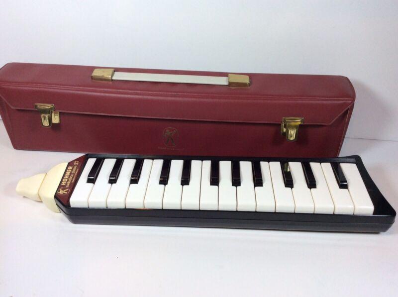 Vintage Hohner Melodica Harmonica Alto Piano 27 With Original Case