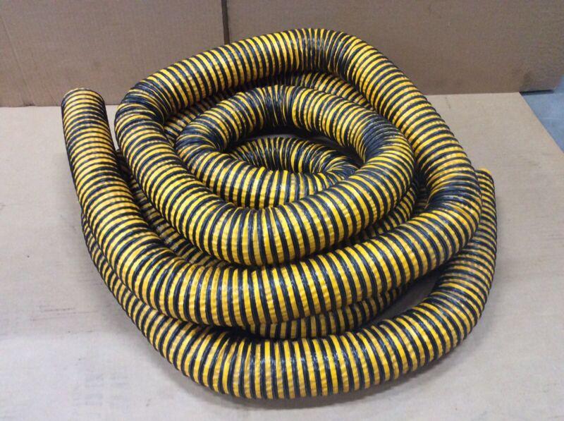 "2.5"" Diameter Wire Flex Hose 24' Vacuum Dust Collector Flexible"