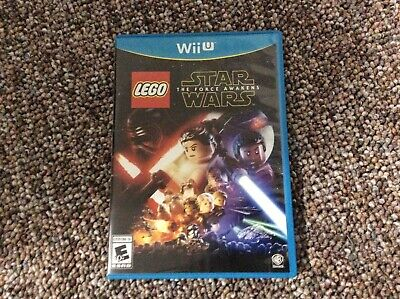LEGO Star Wars: The Force Awakens (Nintendo Wii U, 2016) Used, Tested