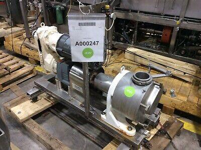 Sine Pump Mr150 Ss Positive Displacement Rotary Pump 5hp