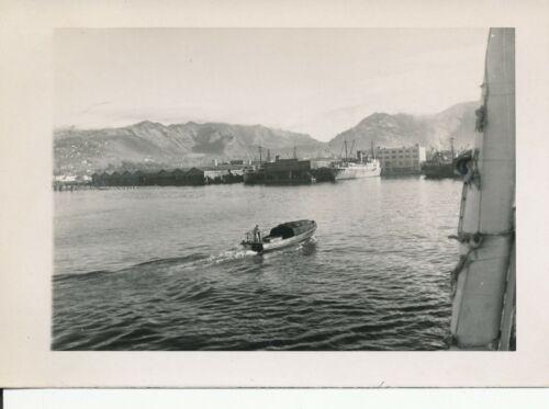 Xmas Eve Dec 24 1946  Cruising in Honolulu Harbor Hawaii Photo