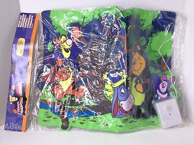 Disney Store Tiggers Haunted House Halloween Entrance Door Mat Makes Noise RARE - Disney Halloween Doormat