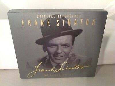 Frank Sinatra 3 CD Set- Try A Little Tenderness, My Funny Valentine, -