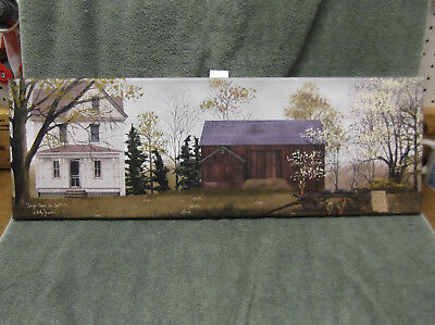 SPRING Flowers For Sale Barn Country House Canvas Wall Decor Billy Jacobs LONG