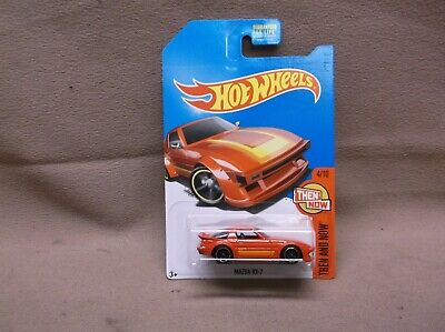 HOT WHEELS RED KMART VARIATION 2017 MAZDA RX-7 STREET RACER THEN AND NOW OUTLAW