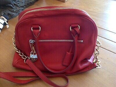 Michael Kors Handbag. Red.