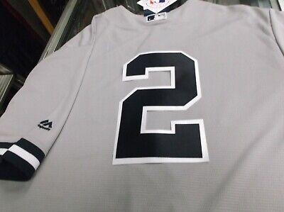 - Derek Jeter 2NY Yankees Majestic Cool Base Road Jersey PLUS FREE VINTAGE CDS