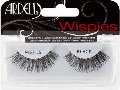 (Ardell Fashion Lashes, Wispies Black, 1 ea)