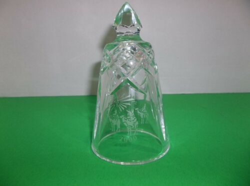 Waterford Crystal Annual Christmas Bell 2000 WISE MEN