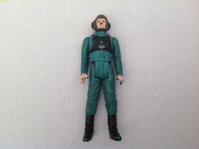VINTAGE ORIGINAL STAR WARS A-Wing Pilot Action Figure Last 17 LFL 1985