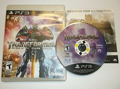 Transformers: Rise of the Dark Spark (Sony PlayStation 3, 2014)